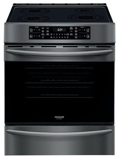 Frigidaire Gallery 5.4 Cu. Ft. Freestanding Induction Range - CGIH3047VD - Electric Range in Smudge-Proof® Black Stainless Steel