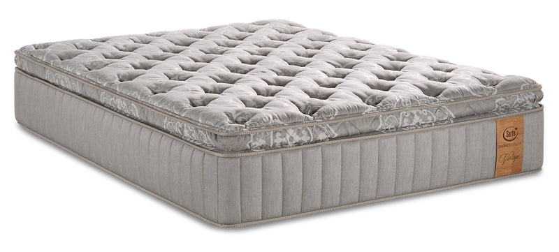 Serta Perfect Sleeper Vintage Champagne Pillowtop Queen Mattress|Matelas à plateau-coussin Champagne Vintage Perfect SleeperMD de Serta pour grand lit
