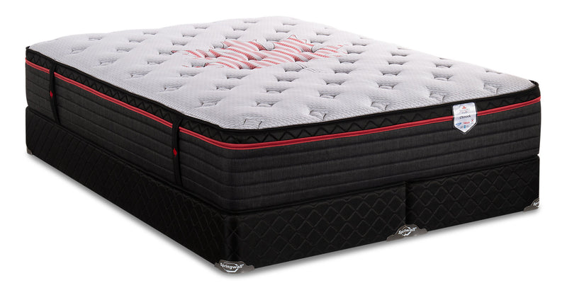Springwall True North Chiropractic Chinook Eurotop King Mattress Set|Ensemble matelas à Euro-plateau True North Chinook ChiropracticMD de Springwall pour très grand lit