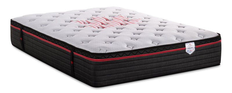 Springwall True North Chiropractic Chinook Eurotop Full Mattress|Matelas à Euro-plateau True North Chinook ChiropracticMD de Springwall pour lit double