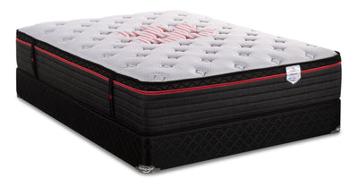 Springwall True North Chiropractic Chinook Eurotop Full Mattress Set|Ensemble matelas à Euro-plateau True North Chinook ChiropracticMD de Springwall pour lit double|CHNOOKFP