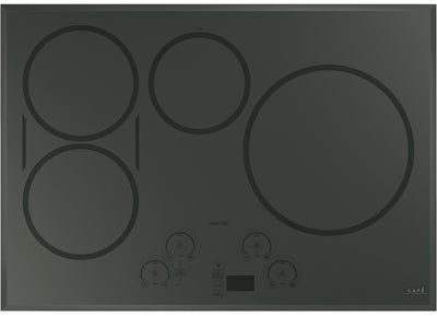 "Café 30"" Touch Control Induction Cooktop - CHP95302MSS - Electric Cooktop in Flagstone Grey"