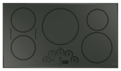 "Café 36"" Touch Control Induction Cooktop - CHP95362MSS - Electric Cooktop in Flagstone Grey"
