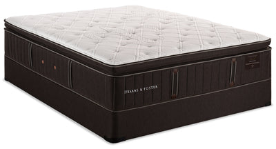 Stearns & Foster Founders Collection Commonwealth Pillowtop Queen Mattress Set|Ensemble à plateau-coussin Commonwealth de la collection Founders de Stearns & Foster pour grand lit|CMNWLTQP