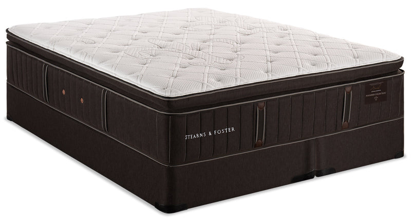 Stearns & Foster Founders Collection Commonwealth Pillowtop King Mattress Set|Ensemble à plateau-coussin Commonwealth collection Founders de Stearns & Foster pour très grand lit