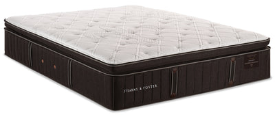Stearns & Foster Founders Collection Commonwealth Pillowtop Queen Mattress|Matelas à plateau-coussin Commonwealth de la collection Founders de Stearns & Foster pour grand lit|CMNWLTQM