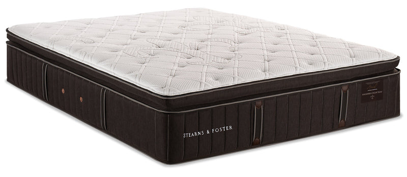 Stearns & Foster Founders Collection Commonwealth Pillowtop Queen Mattress|Matelas à plateau-coussin Commonwealth de la collection Founders de Stearns & Foster pour grand lit