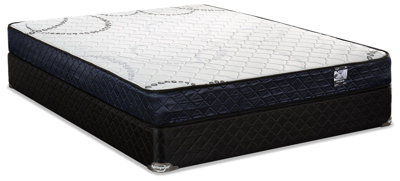 Springwall Cosmic Low-Profile Full Mattress Set|Ensemble matelas à profil bas Cosmic Springwall pour lit double