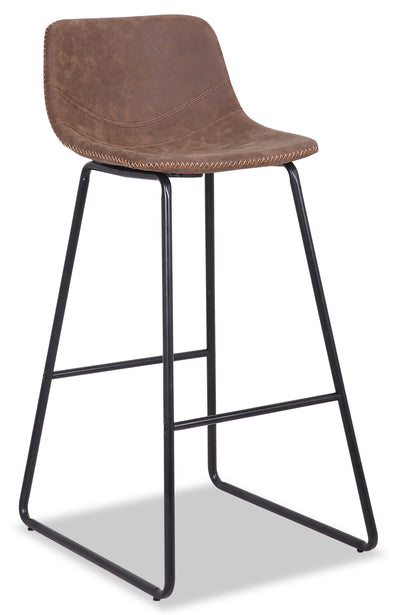 Coty Barstool - Brown - {Modern} style Bar Stool in Brown {Metal}