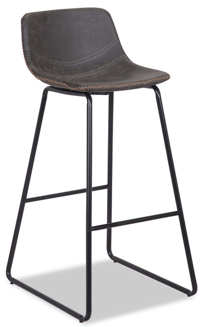 Coty Barstool - Grey - {Modern} style Bar Stool in Grey {Metal}