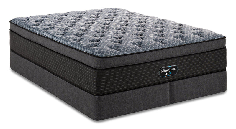 Beautyrest GL5 Carerra Ultra Eurotop King Mattress Set|Ensemble matelas à Euro-plateau épais GL5 Carerra de BeautyrestMD pour très grand lit
