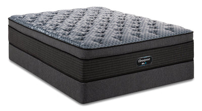 Beautyrest GL5 Carerra Ultra Eurotop Twin Mattress Set|Ensemble matelas à Euro-plateau épais GL5 Carerra de BeautyrestMD pour lit simple|CRERRATP