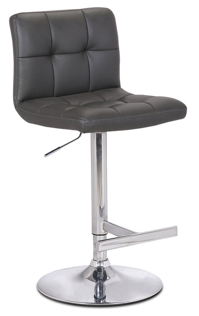 Cruz Grey Bar Stool|Tabouret bar Cruz gris|CRUZGBST