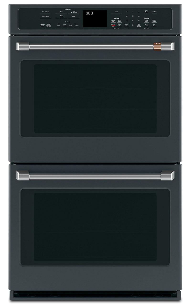 "Café 30"" 10 Cu. Ft. Double Wall Oven with Convection - CTD90DP3MD1