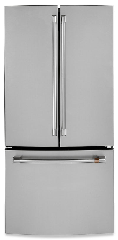 Café 18.6 Cu. Ft. French-Door Counter-Depth Refrigerator - CWE19SP2NS1|Réfrigérateur Café de 18,6 pi³ à portes françaises de profondeur comptoir - CWE19SP2NS1|CWE19SPS
