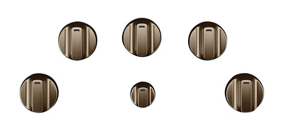 Café 5-Piece Electric Cooktop Brushed Bronze Knobs - CXCE1HKPMBZ - Accessory Kit in Brushed Bronze