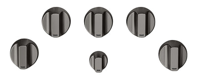 Café 5-Piece Gas Cooktop Brushed Black Knobs - CXCG1K0PMBT - Accessory Kit in Brushed Black