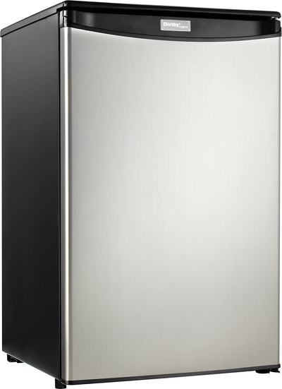 Danby 4.4 Cu. Ft. Compact Refrigerator – DAR044A4BSSDD - Refrigerator in Stainless Steel