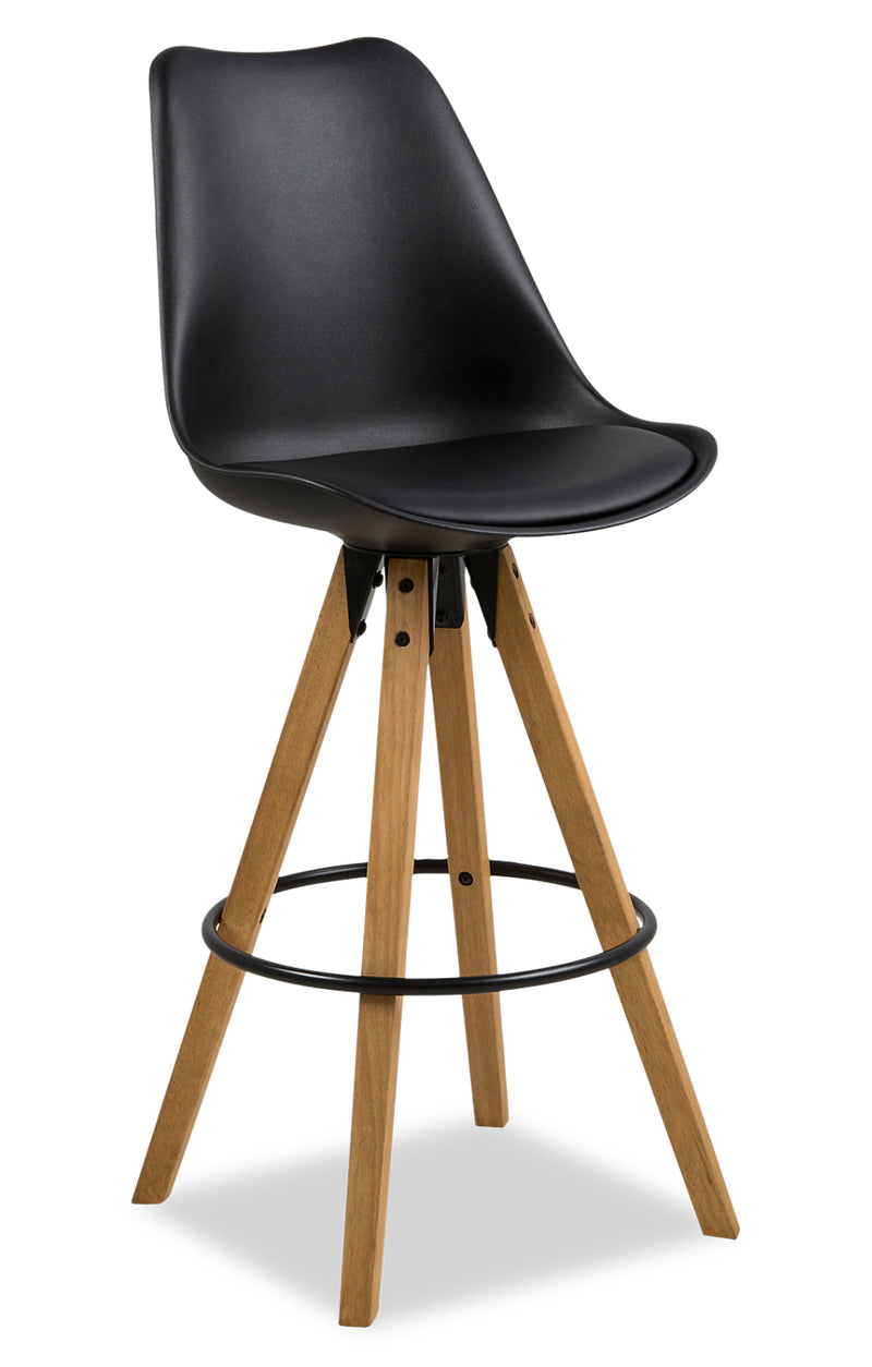 Dima Bar Stool - Black|Tabouret bar Dima - noir
