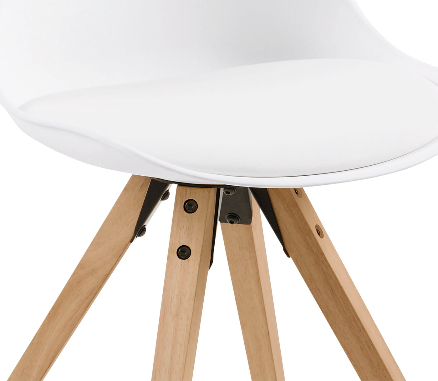 Groovy Dima Dining Chair Set Of Two White Andrewgaddart Wooden Chair Designs For Living Room Andrewgaddartcom