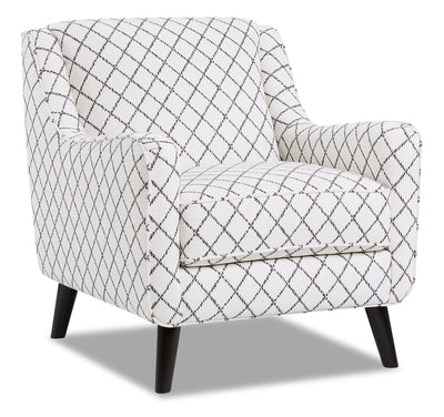 Dina Fabric Accent Chair - Muse Blue|Fauteuil d'appoint Dina en tissu - muse bleue|DINAMBAC