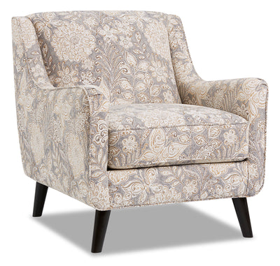 Dina Fabric Accent Chair - Madelena Morning Dew