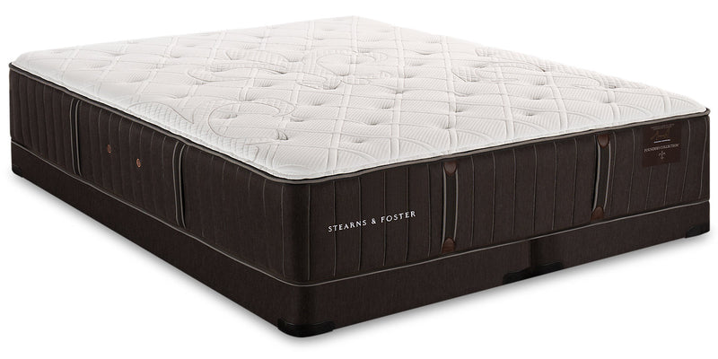 Stearns & Foster Founders Collection Dukeshire Low-Profile King Mattress Set|Ensemble à profil bas Dukeshire de la collection Founders de Stearns & Foster pour très grand lit|DKESHLKP