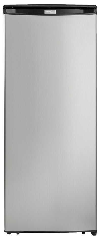 Danby Designer 8.5 Cu. Ft. Freezer – DUFM085A2BSLDD - Freezer in Stainless Steel