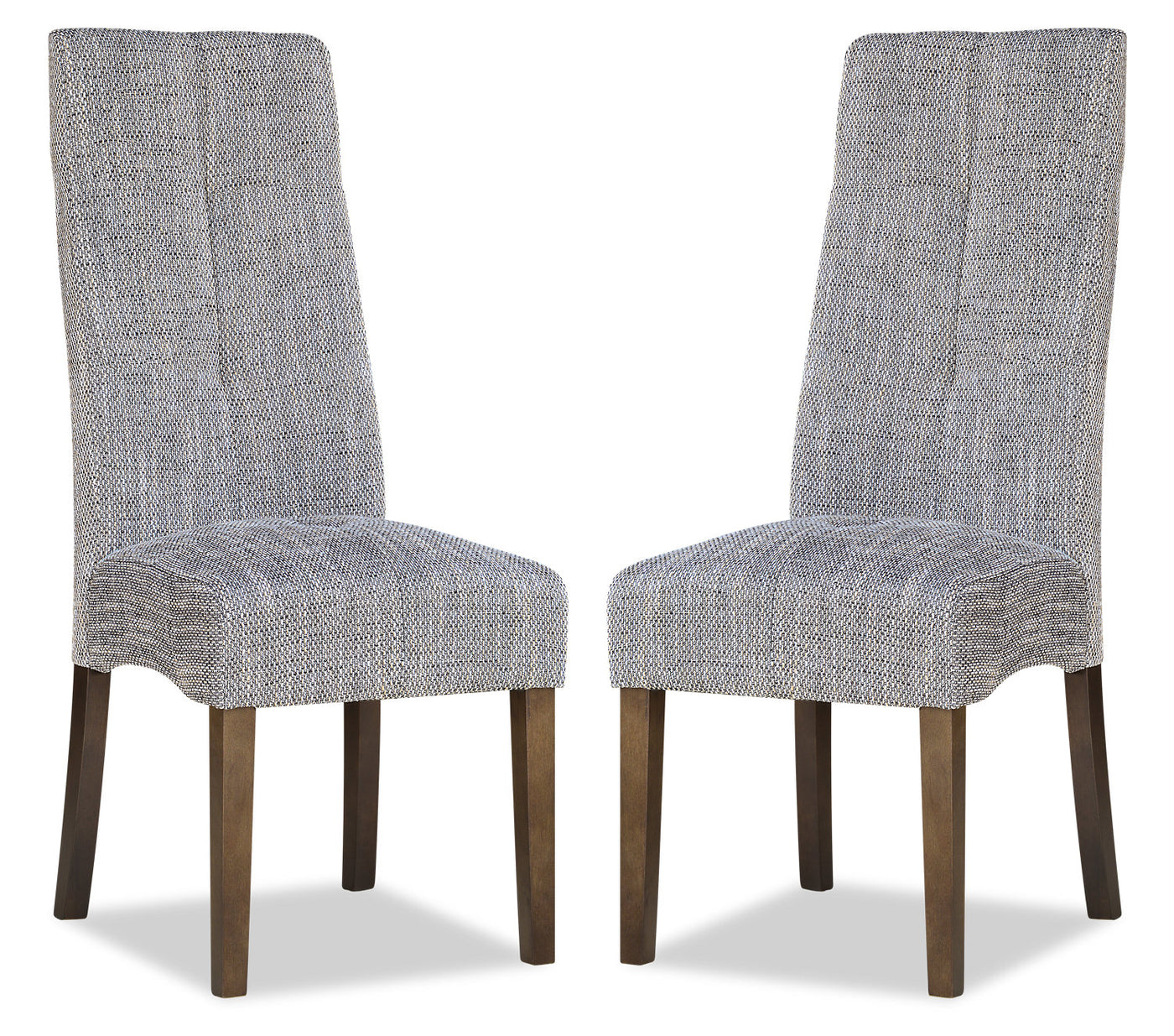 Maya Accent Dining Chair, Set of 2 – Grey