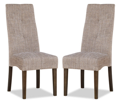 Maya Accent Dining Chair, Set of 2 – Beige|Chaise de salle à manger Maya, ensemble de 2 – beige|DY6088TP