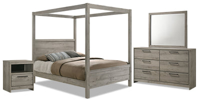 Echo 6-Piece Queen Bedroom Package|Ensemble de chambre à coucher Echo 6 pièces avec grand lit|ECHOGQP6