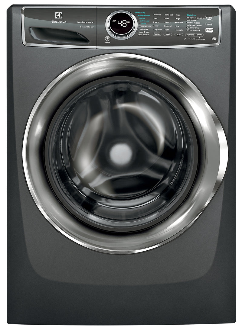 Electrolux 5.1 Cu. Ft. IEC Front-Load Steam Washer with LuxCare Wash and SmartBoost – EFLS627UTT|Laveuse à vapeur Electrolux à chargement frontal CEI 5,1 pi3, LuxCareMC + SmartBoostMC - EFLS627UTT