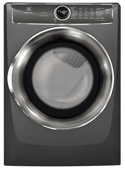 Electrolux 8.0 Cu. Ft. Front-Load Perfect Steam™ Electric Dryer with Instant Refresh – EFMC627UTT - Dryer in Grey