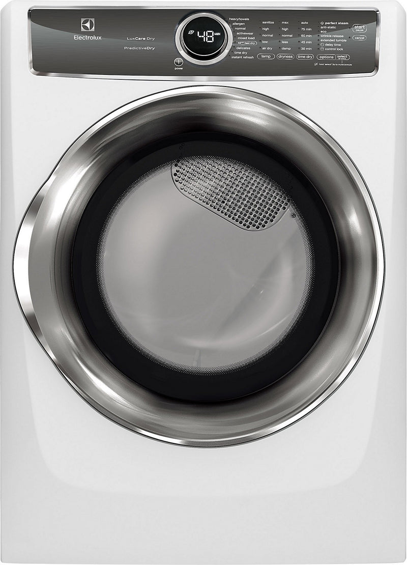 Electrolux 8.0 Cu. Ft. Front-Load Electric Dryer - EFMC627UIW - Dryer in White