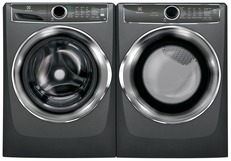 Electrolux 5.1 Cu. Ft. IEC Front-Load Steam Washer and 8.0 Cu. Ft. Front-Load Perfect Steam™ Electric Dryer|Laveuse à chargement frontal CEI 5,1 pi³ et sécheuse électrique de 8,0 pi³ de Electrolux
