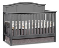 Emerson 4-in-1 Convertible Crib - Dove Grey