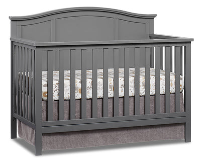 Emerson 4-in-1 Convertible Crib - Dove Grey|Lit de bébé Emerson convertible 4 en 1 - gris tourterelle|EMERG4CB