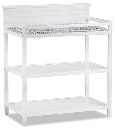 Emerson Changing Station with Changing Pad – Snow White|Table à langer Emerson avec matelas à langer - blanc neige|EMERW0CT
