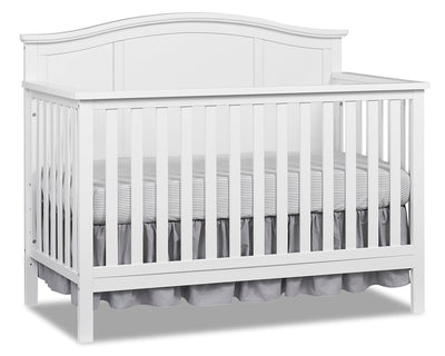 Emerson 4-in-1 Convertible Crib – Snow White|Lit de bébé Emerson convertible 4 en 1 - blanc neige|EMERW4CB