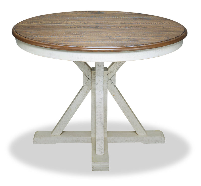 Emmy Dining Table – Antique White|Table de salle à manger Emmy - blanc antique|EMMYWDTL