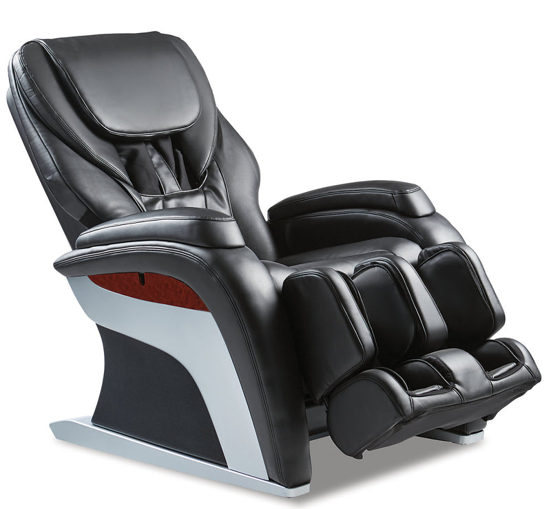 Panasonic Urban Collection Reclining Massage Chair - Black|Fauteuil de massage inclinable de la collection Urban de Panasonic - noir