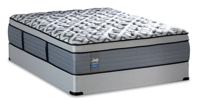 Sealy Posturepedic Crown Luxe East Cove Eurotop Full Mattress Set|Ensemble matelas à Euro-plateau East Cove Posturepedic Crown Luxe de Sealy pour lit double|ESTCOVFP