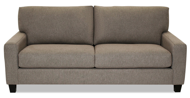 Designed2B Farah Chenille Sofa - Milo Pewter - {Contemporary} style Sofa in Milo Pewter {Solid Hardwoods}