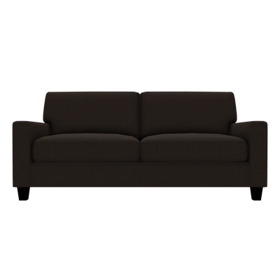 Designed2B Farah Textured Polyester Sofabed - Plush Chocolate|Sofa-lit Farah Design à mon image en polyester texturé  - Plush chocolat|FA602479