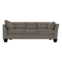 Designed2B Felix Chenille RAF Sofa Return - Milo Pewter