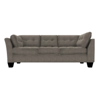 Designed2B Felix Chenille LAF Sofa Return - Milo Pewter