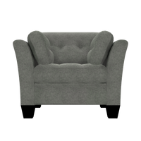 Designed2B Felix Velvet Chair - Kira Platinum