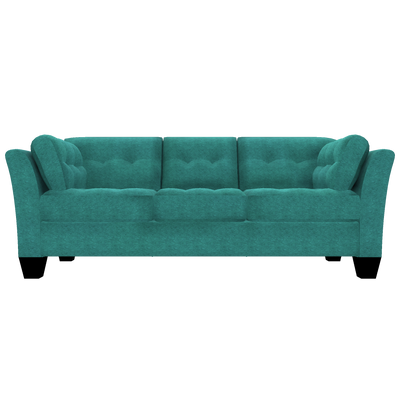 Designed2B Felix Chenille Sofabed - Milo Teal - Sofabed