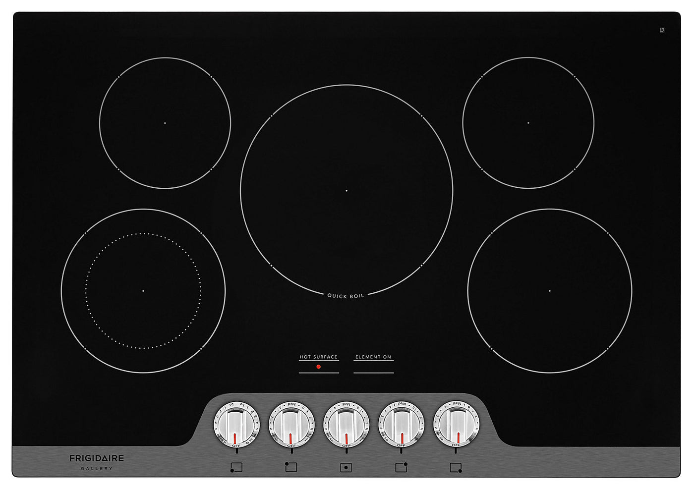 Frigidaire Gallery 30 Electric Cooktop Fgec3068us The Brick