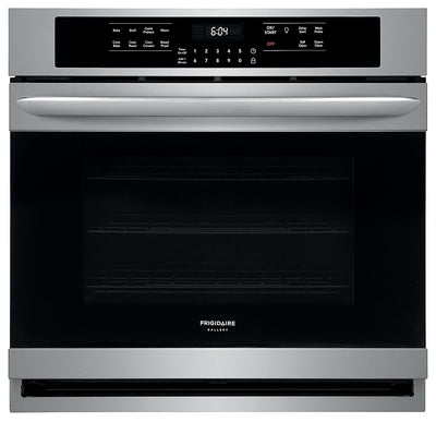 Frigidaire Gallery 5.1 Cu. Ft. Convection Single Wall Oven - FGEW3066UF - Electric Wall Oven in Smudge-Proof™ Stainless Steel